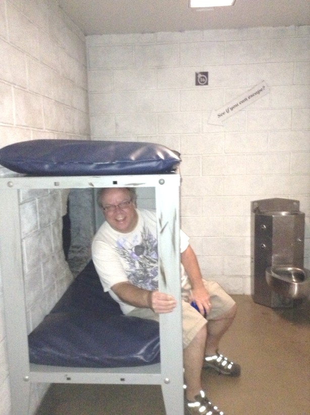 NOT my favorite kind of accommodations! If you haven't been to jail...Don't Go!